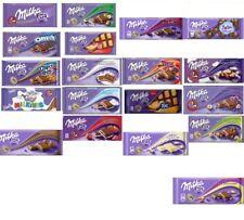 3 x MILKA  Alpina Milk Chocolate Bar 22 Different Flavors fresh from Germany NEW