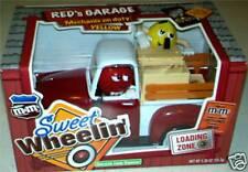 M&M's Red's Garage Sweet Wheelin' Red Truck M & M Dispenser Collector Xmas Gift