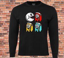 JB's Long Sleeve T-shirt Pac Skull  Cool Design