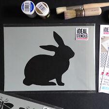 Conejo Plantilla Animal Cuarto Del Bebé Manualidades Pintura Paredes Tejido