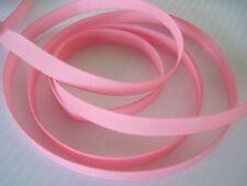 "3/8"" Grosgrain Ribbon Solid Color U Pick Lot 50 Yards"