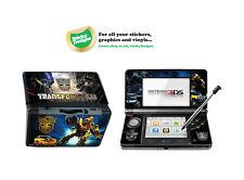 Transformateurs Vinyle Peau Sticker Pour Nintendo 3DS