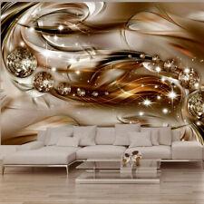 Vlies Fototapete Abstrakt Tapete 3 Farben Wandbilder xxl Wandtapete a-A-0168-a-b