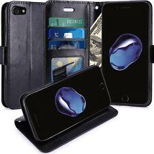 iPhone 7 Housse  Coque Etui de luxe Portefeuille Porte Carte Et Billet Pour Appl