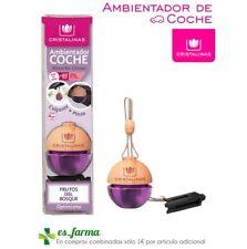 CRISTALINAS AMBIENTADOR COCHE FRUTOS DEL BOSQUE ABSORBE OLORES COLGANTE PINZA