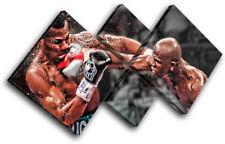 Boxing Floyd Mayweather Sports MULTI CANVAS WALL ART Picture Print VA