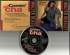 WALTER BEASLEY Comin' At Cha  w/ 3 RARRE EDITS PROMO Radio DJ CD Single coming