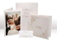 Einladungen Menükarten Tischkarten Danksagungen Hochzeit bedruckbar ♥
