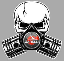 GARELLI Pistons skull Sticker