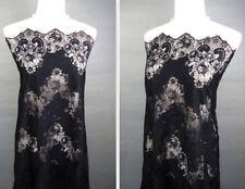 "Tela de encaje de Chantilly Pestañas Bridal Lace De Tela 59"" con cable de tela de encaje 3 M/Pieza"