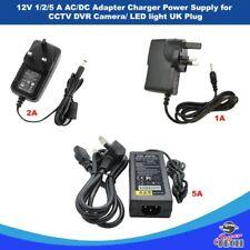 1A/2A/5A 12V AC/DC Adapter Charger Power Supply for CCTV DVR Camera/ LED light U