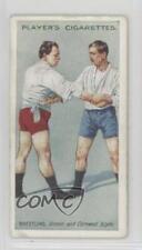 1911 Player's Cigarettes Wrestling & Ju-Jitsu Tobacco 196915 #18 The Hold Card