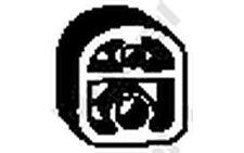 BOSAL Rubber Buffer, silencer for PEUGEOT 207 RENAULT LAGUNA CITROEN C2 C3