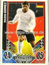 Match Attax Euro EM 2012 - #080 Mario Gomez - Deutschland