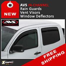 07 - 11 Dodge Nitro IN-CHANNEL Rain Guards Visors Window Deflectors AVS
