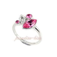 Anello Donna Cristallo Swarovski elements rosa N59