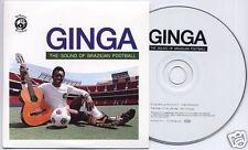 GINGA The Sound Of Brazilian Football UK 24-trk promo CD Mr Bongo