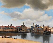 Johannes Vermeer - View of Delft Vintage Fine Art Print