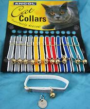 ANCOL REFLECTIVE CAT KITTEN COLLAR & BELL
