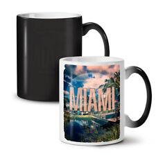 Miami Beach City Fashion NEW Colour Changing Tea Coffee Mug 11 oz | Wellcoda