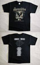 "Symphony X official T-shirt ""Innocence. European tour 2011"" black  NEW (M,L,XL)"