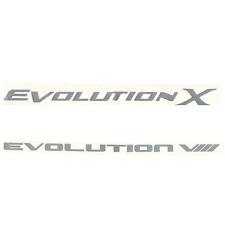 Vinyl Racing Decal Sticker For Evolution Compatible w/ Mitsubishi Lancer Evo JDM