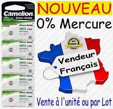 Piles/Battery Oxyde d'Argent 1,55V 0% Mercure pour Montre : SR58W G11 362 SR721
