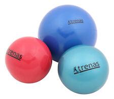 TRENAS Gewichtsball 0,50 kg - 1,00 kg - 2,00 kg - Weicher gefüllter Fitnessball
