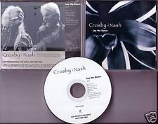 David CROSBY Graham NASH Lay Me Down PROMO CD & Stills