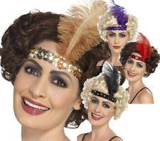 1920s Banda De Cabeza De Flapper Disfraz Mujer Accesorio 20s Gatsby