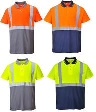 Portwest S479 deux tons Hi Vis POLO vêtements de travail