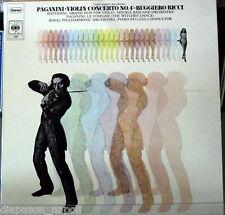 Paganini: Violin Concerto (Concerto per Violino) N 4, Etc / Ruggiero Ricci Vinyl