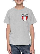 Peru- Country Soccer Crest Futbol World Cup YOUTH