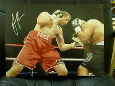 David Price Signed Large Boxing Photograph 6