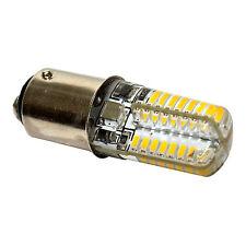 HQRP Bombilla LED 110V 3W BA15d para Pfaff 130-7570 modelos de máquina de coser