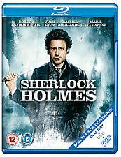 Sherlock Holmes (12) (Blu-ray, 2010, 2-Disc Set) NEW SEALED