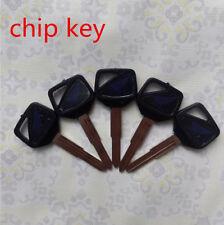 5PC Blank Key Uncut fit for Honda CB400/1300 VTEC CBR600RR/1000RR VTR1000 Chip