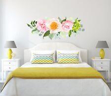 Flowers Wall Decals Rustic New Full Color Murals Vinyl Sticker Trendy Decor EN38