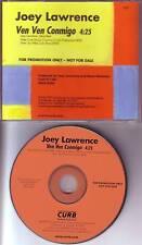 JOEY LAWRENCE Ven Ven Conmigo PROMO DJ CD single 1997