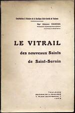 Le vitrail des nouveaux Saints de Saint-Sernin EAS manuscrit