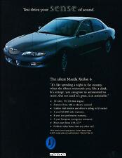 1993 Mazda Xedos 6 -  Classic Advertisement Ad A60-B