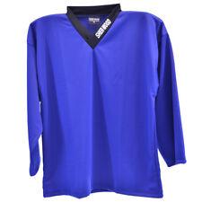 Bleu-hockey entraînement jersey de hockey sur glace shirt, haut d'entraînement, sports jerseys