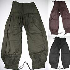 pantaloni pantaloni Harem Pantaloni a sbuffo 113CM cotone Hippy Goa India