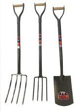 Garden Digging Spade Fork Shovel Border Edging Farm Steel Tools