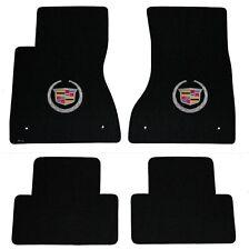 New 2003-2015 Lloyd Brand Cadillac CTS Carpet Floor Mats 4pc Official Crest Logo