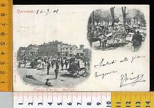 24826] TORINO - CHIVASSO - PIAZZA D'ARMI MERCATO 1901