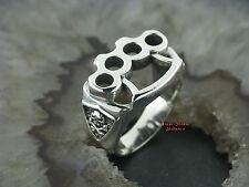 Silberring Gothic Motiv SCHLAGRING Totenkopf Jolly Roger Skull Ring Silber 925