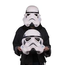 Cosplay Star Wars Stormtrooper Latex Mask Soft Helmet Halloween Party Mask Prop