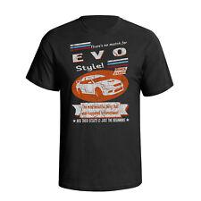 Mitsubishi Lancer Evo7 2001 Retro Style Mens Car T-Shirt