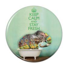 Elephant Keep Calm and Stay Fresh Compact Pocket Purse Hand Makeup Mirror